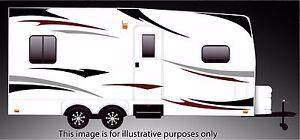 RV, Trailer Hauler, Camper, Motor-home Large Decals/Graphics Kits 24-k-3