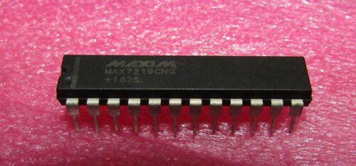 MAX7219 Serially Interfaced, 8-Digit, LED Display Drivers DIP24 MAX7219CNG