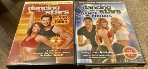 Sealed Dancing With The Stars - Latin Cardio Dance And Dance Off The Pounds DVD - $4.99