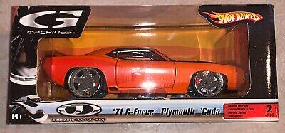 Hot wheels G Machines '71 G-Force Plumouth 'Cuda