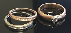 Promise ring + 2x bands