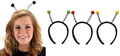 Antenna Antennae Lady Bug Bee Alien Bopper Headband Child Women's Costume - Alien Antenna Headband