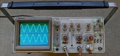 Tektronix 2235 100mhz Two Channel Oscilloscope Two Probes Power Cord