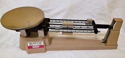 Ohaus Triple Beam Balance Scale 700800 Series 2610g