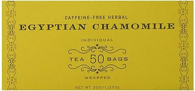 Best Harney and Sons Egyptian Chamomile Tea 30g 1.07 Oz 50 Tea Bags Pack of