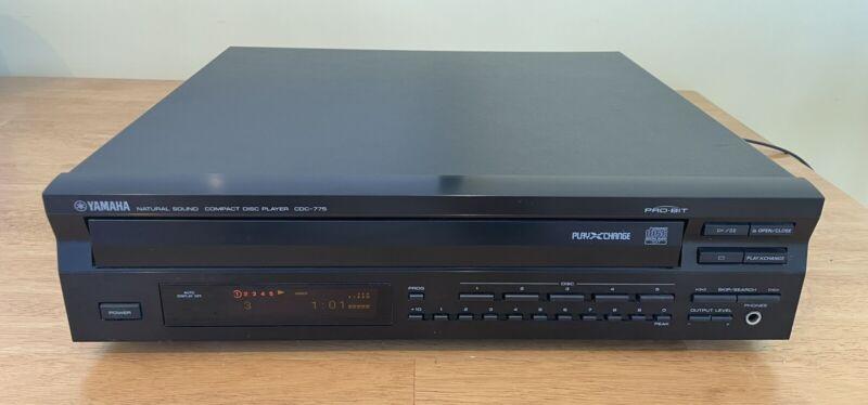 VINTAGE YAMAHA CDC-775 Natural Sound ProBit 5 CD Carousel Changer - Tested Works