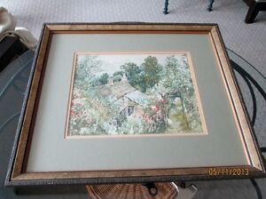 Watercolour, Signed and Beautifully Framed Kitchener / Waterloo Kitchener Area image 4