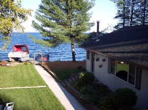For Sale Lake Wahnapitae 4 season house with guest cottage