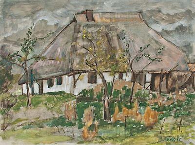 Sonja Wüsten - o. T. - Temperamalerei auf Hartfaser - 1986