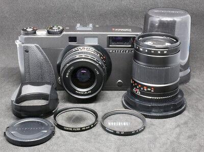 [FedEx]Hasselblad Xpan II 35mm Rangefinder Film Camera + 45mm + 90mm
