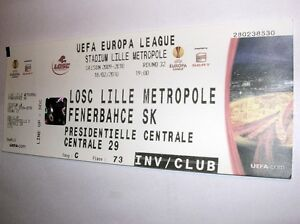 used ticket LOSC LILLE - FENERBAHCE SK 18.02.2010 - <span itemprop=availableAtOrFrom>Kraków, Polska</span> - used ticket LOSC LILLE - FENERBAHCE SK 18.02.2010 - Kraków, Polska