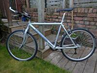 "Cannondale aluminium oversize 20"" frame mountain bike"