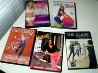 5 Fitness DVDs