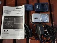 Panasonic Lumix Digital Camera - DMC-FX01 + 2 Batteries & Charger