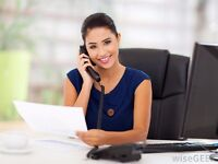 secretary office administrator few hours per week £100