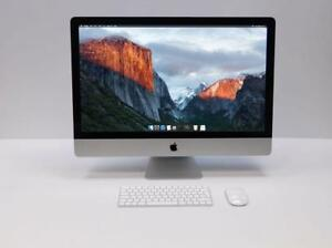 "Core i5-Apple iMac 27""-A1312-2.80GHz-16GB-1TB-Cam-DVD-BT-WiFi+"