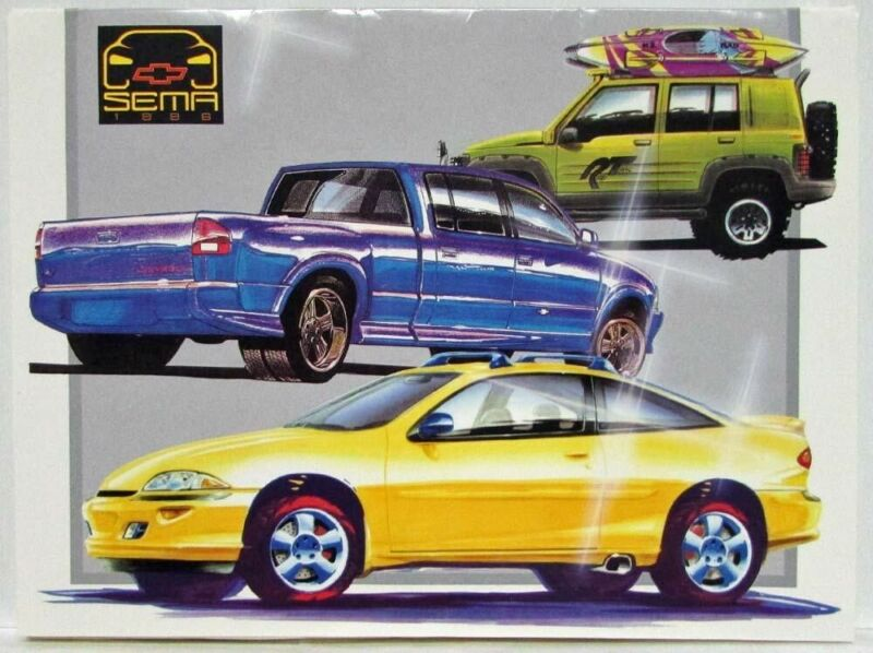 1996 Chevrolet SEMA Auto Show Press Kit