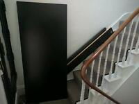 IKEA MALM king-size bed frame
