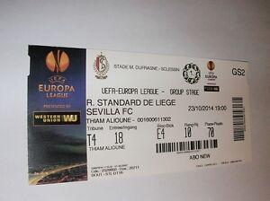 used ticket STANDARD Liege - SEVILLA FC 23.10.2014 - <span itemprop=availableAtOrFrom>Kraków, Polska</span> - used ticket STANDARD Liege - SEVILLA FC 23.10.2014 - Kraków, Polska