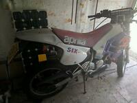 Aprilia Rx125 2 stroke 125 Road legal dirtbike