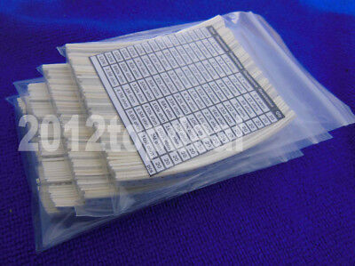 1206 3216 Smd Chip Resistors 64 Value Kit 1 10m 5 1280pcs