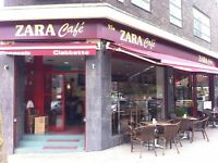 Experienced waitresses required for busy Zara cafe, immediate start!