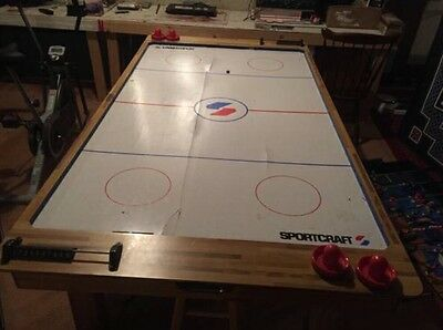 Sportcraft 6ft Turbo Air Hockey Table