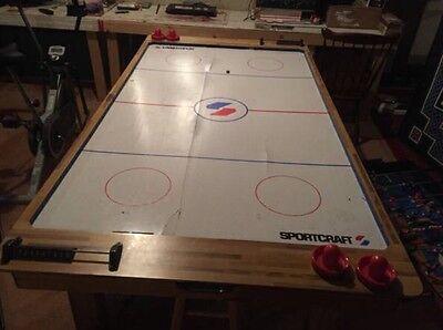 Sportcraft 6ft Turbo Air Hockey Table
