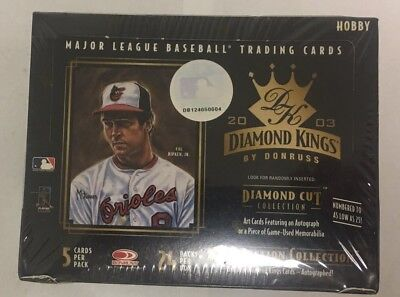 2003 Donruss Diamond Kings Factory Sealed Baseball Hobby Box