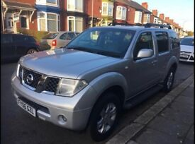 NISSAN PATHFINDER 2.5 2006 AUTOMATIC