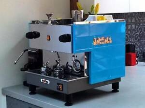 Boema 10amp Coffee Machine Refurbished/Restored, Rancilio Grinder Enmore Marrickville Area Preview