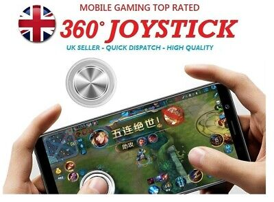 Mobile Joystick ultra thin Game Stick Controller For Touch Screen Phone Tablet