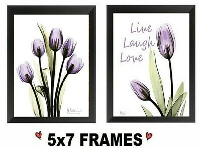 💗 5x7 Purple Tulip Pictures Lavender Flowers Live Love Floral Wall Hangings Purple Tulip Flowers