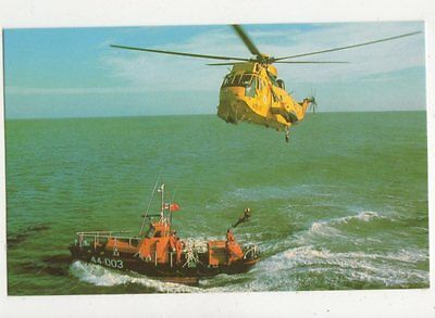 Waveney Class Self Righting Lifeboat Postcard 597a