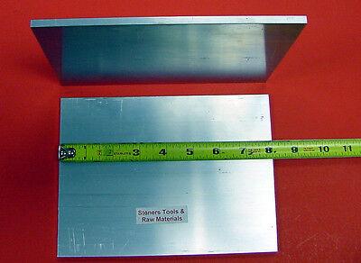 2 Pieces 14 X 6 Aluminum 6061 Flat Bar 8 Long .250 T6511 Plate Mill Stock