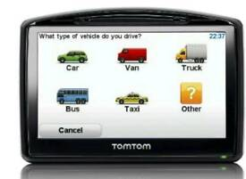 TomTom truck conversion