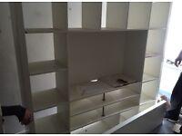 IKEA Expedit TV /shelving unit