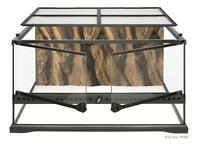Short and long reptile tank