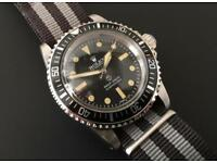 Rolex Submariner MilSub Royal Navy Military watch ref. A/6538 5512 5513 Vintage James Bond