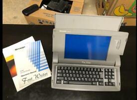 Sharp Fontwriter Word Processor FW 700