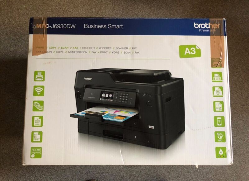 Brother MFC-J6930DW A3 Printer and Scanner, used for sale  Pontcanna, Wales