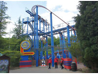 Alton tower ticket september dates available