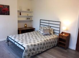 Bright, Large, Clean, full furnished Double Room for Single person in Newly Refurbished Flat