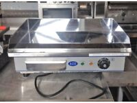 Electric Griddle / Hotplate - Chrome SR