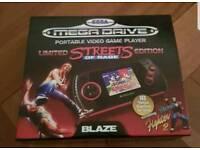 Sega Blaze Handheld Console Limited Edition