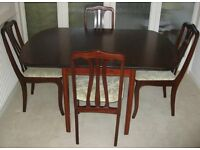 Quality Dining Suite comprising Table, Chairs and Sideboard