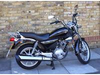 Yamaha YBR custom 125cc for sale