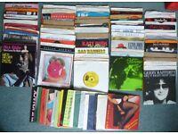 83 singles/Records/Vinyl/45's - Elton John, ELO, Wings, Brooker T & MG's, Kate Bush + loads more