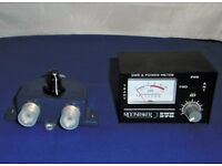 Antenna switch and swr meter