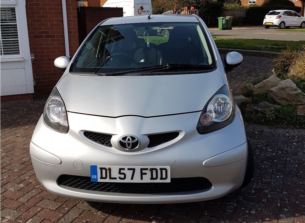 TOYOTA AYGO PLATINUM (2007, Petrol, Silver, Serviced Yearly) FULL WORKING CONDITION